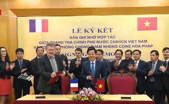 Việt Nam – Pháp tăng cường hợp tác phòng chống tham nhũng