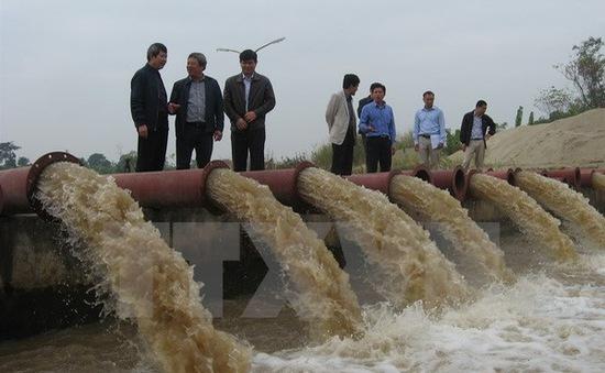 Xả nước đợt 1 phục vụ đổ ải Đông Xuân