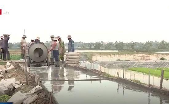Hải Phòng: Huy động sức dân xây dựng giao thông nông thôn