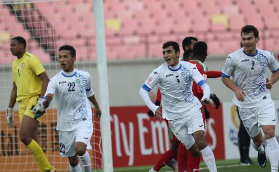VIDEO Tổng hợp trận đấu: U23 Uzbekistan 1-0 U23 Oman