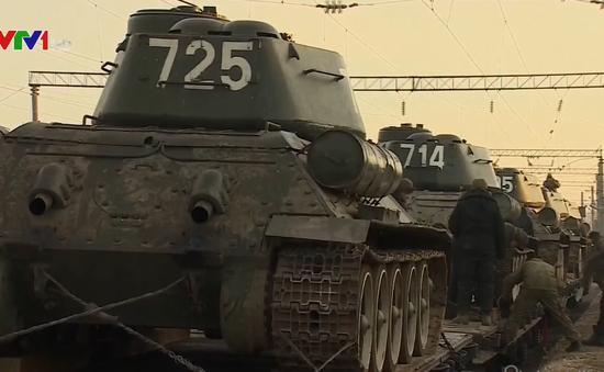 Nga nhập lại 30 xe tăng T-34 từ Lào
