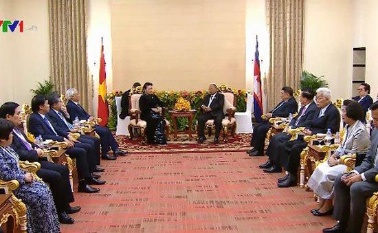 Trao đổi kinh nghiệm giữa các cơ quan Quốc hội Việt Nam và Campuchia
