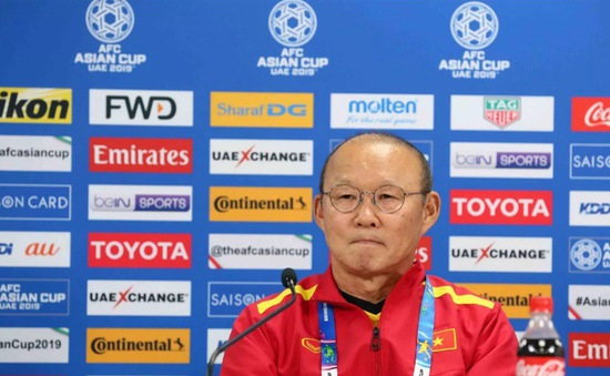 """HLV Park Hang-seo: """"Tôi tự hào về các cầu thủ ĐT Việt Nam"""""""