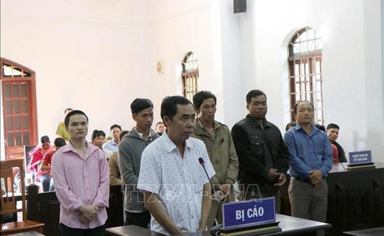 Đắk Nông: Xét xử 6 bị cáo trong vụ án hủy hoại rừng tại huyện Đắk G'Long