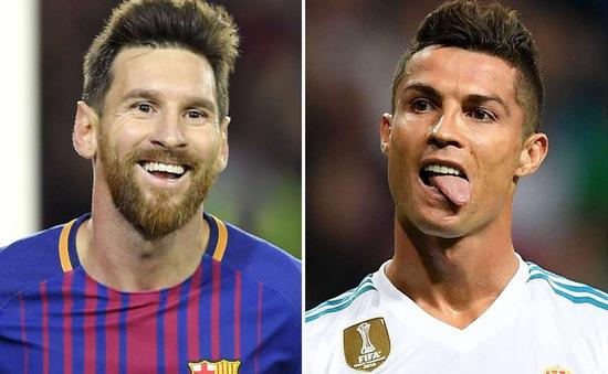 C.Ronaldo CHƯA TỪNG bầu cho Messi ở các cuộc đua danh hiệu cá nhân