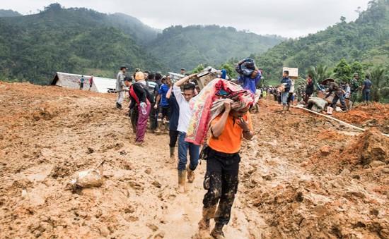 Indonesia: Sạt lở đất chôn vùi hàng chục ngôi nhà, 15 người thiệt mạng