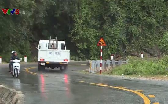 Nguy cơ tai nạn giao thông trên QL 27 đoạn qua đèo Sông Pha