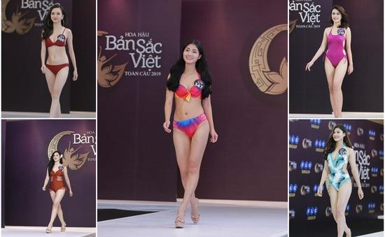 Ngắm vẻ đẹp gợi cảm của các thí sinh dự Sơ khảo miền Bắc Hoa hậu Bản sắc Việt toàn cầu 2019