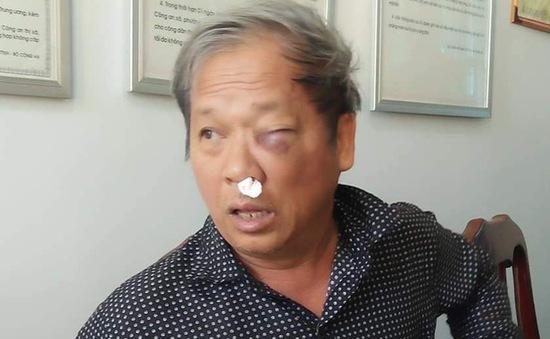 Phóng viên VTV bị côn đồ hành hung