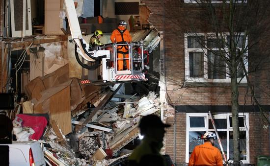 Nổ gây sập tòa nhà 3 tầng tại Hà Lan