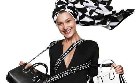 Bella Hadid đẹp rạng ngời trong chiến dịch của Michael Kors Spring 2019