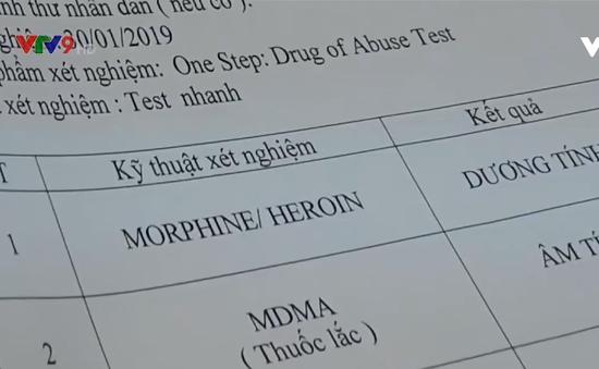 Bình Thuận: Hàng loạt tài xế dương tính với ma túy