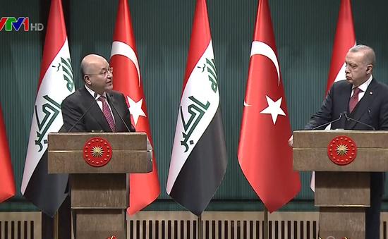 Thổ Nhĩ Kỳ và Iraq hợp tác chống khủng bố