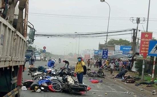 Những vấn đề cần nhìn lại sau vụ xe container gây tai nạn hàng loạt