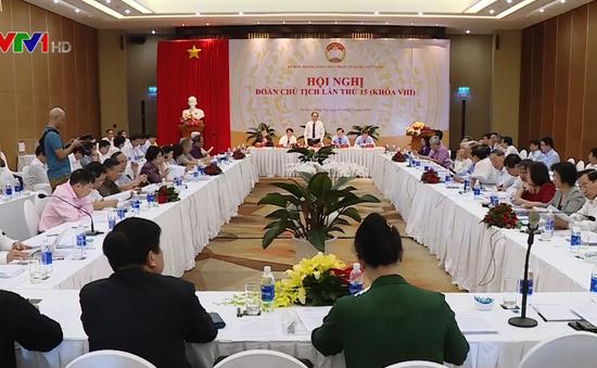 Hội nghị Đoàn Chủ tịch Ủy ban Trung ương MTTQ Việt Nam lần thứ 15