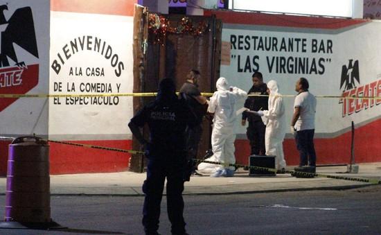 Xả súng tại Mexico làm 7 người thiệt mạng
