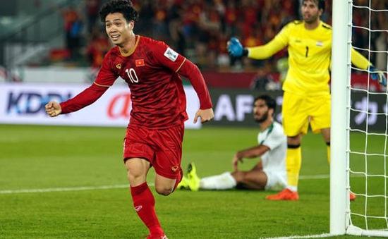 """ĐT Việt Nam 2 lần liên tiếp nhận """"quà"""" từ đối thủ ở Asian Cup"""