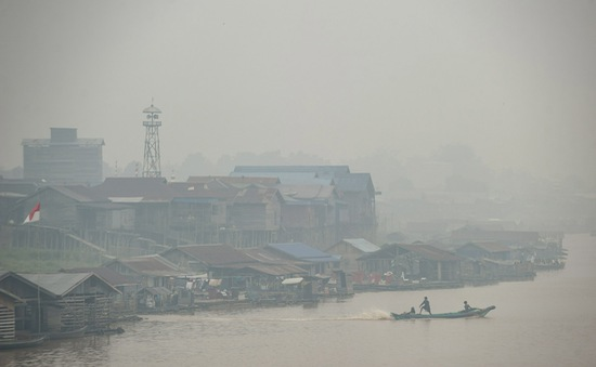 Hạn chế khói mù xuyên biên giới tại Đông Nam Á