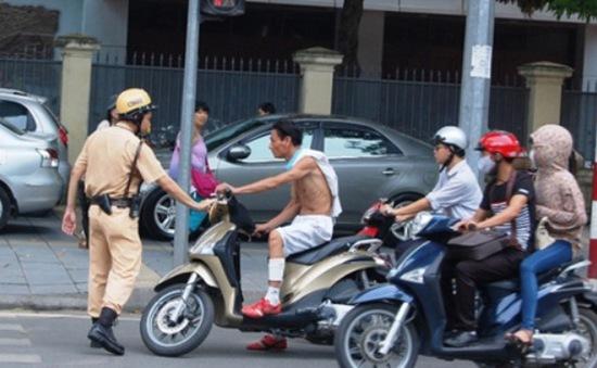 Hà Nội: Triển khai thêm lực lượng 141 xử lý vi phạm giao thông