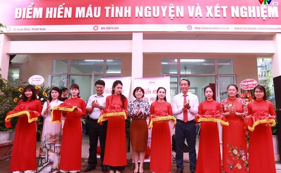 Thêm điểm hiến máu cố định tại Hà Nội