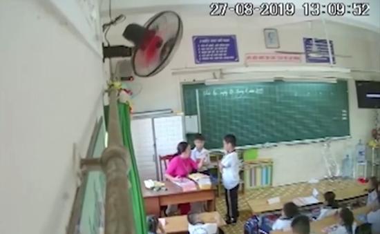TP.HCM yêu cầu xử lý vụ cô giáo đánh học sinh