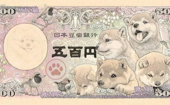 Nhật Bản sắp ra mắt tờ tiền in hình giống chó Shiba Inu