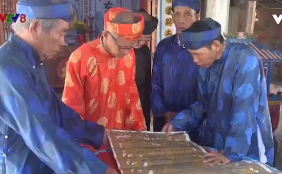 Phú Yên: Phát hiện 6 đạo sắc phong thuộc triều đại các vua Tự Đức, Đồng Khánh, Duy Tân, Khải Định