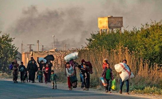 Hơn 60.000 người Syria phải sơ tán sau chiến dịch tấn công của Thổ Nhĩ Kỳ