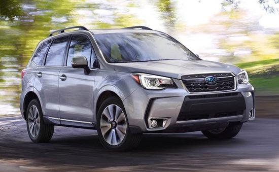 Subaru triệu hồi 168 xe Forester tại Việt Nam