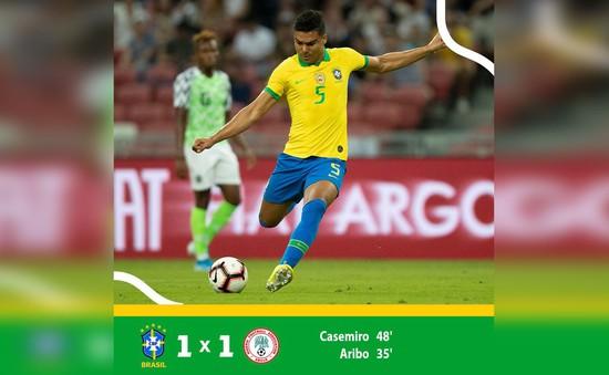 ĐT Brazil 1-1 Nigeria: Neymar lại chấn thương trong trận hòa thất vọng của ĐT Brazil