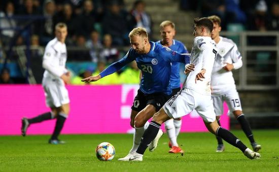 Kết quả vòng loại EURO 2020 rạng sáng 14/10: Estonia 0-3 Đức, Xứ Wales 1-1 Croatia...