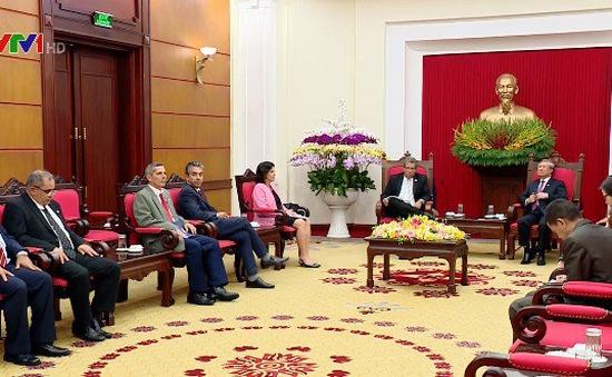 Đẩy mạnh hợp tác Việt Nam - Cuba