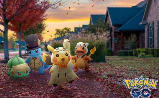 Pokémon GO bắt đầu sự kiện Halloween từ 17/10