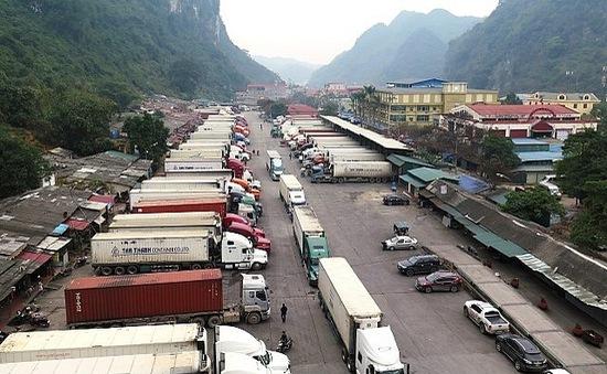 Hàng nghìn tấn nông sản ùn ứ tại cửa khẩu Tân Thanh