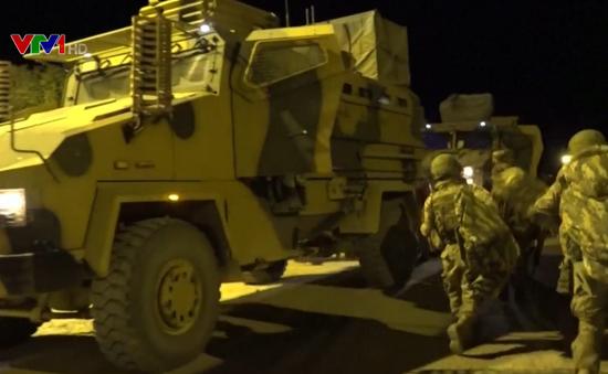 Tạm dừng chiến dịch quân sự ở miền Bắc Syria