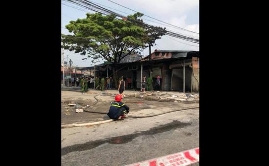 Hỏa hoạn tại chợ Còng tạm: Khám nghiệm hiện trường, xác định nguyên nhân gây cháy