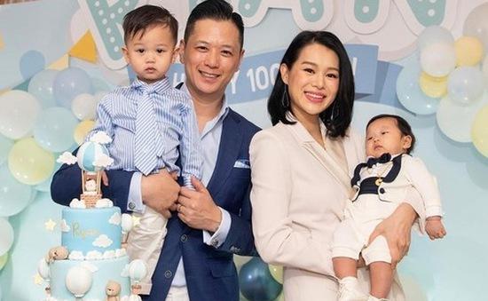 Hồ Hạnh Nhi mở tiệc mừng con trai tròn 3 tháng tuổi