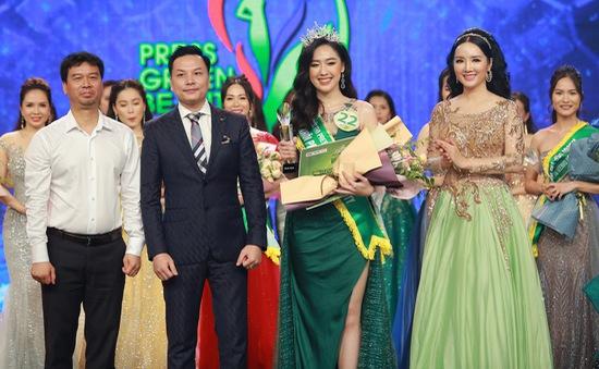 Top 15 Hoa hậu Việt Nam 2018 Phạm Ngọc Hà My đăng quang Hoa khôi Press Green Beauty 2019