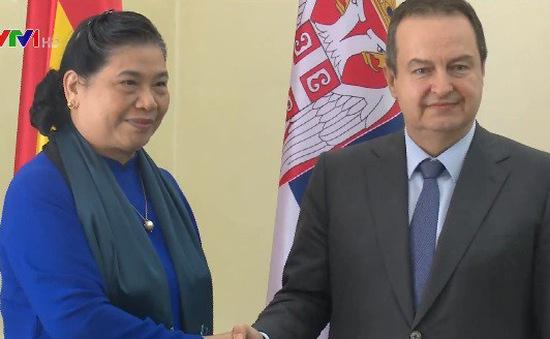 Tăng cường hợp tác Việt Nam và Serbia