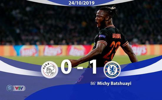 UEFA Champions League: Batshuayi tỏa sáng, Chelsea thắng kịch tính trước Ajax