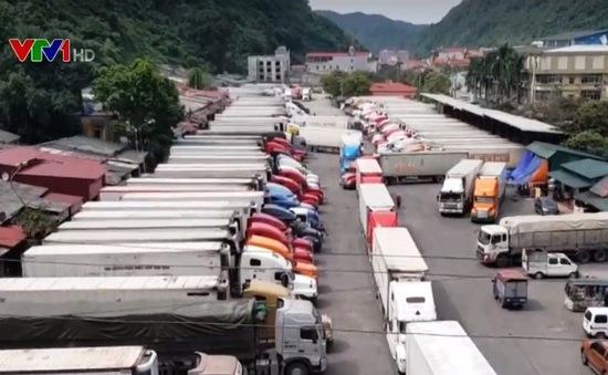 Tháo gỡ ùn ứ nông sản tại cửa khẩu Tân Thanh
