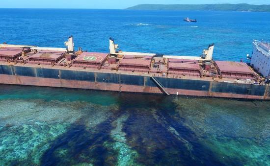 Các phương thức xử lý dầu tràn trên biển