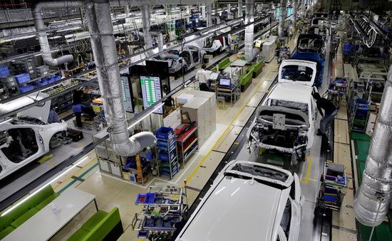 Hoạt động sản xuất của Nhật Bản thu hẹp mạnh nhất trong 3 năm qua