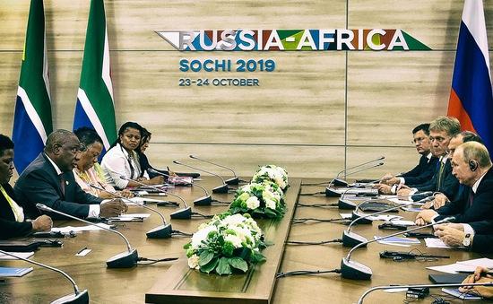 Hội nghị thượng đỉnh Nga - châu Phi: Sẵn sàng cho bước quan hệ mới