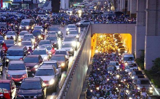 Lộ trình cấm xe máy trong nội thành Hà Nội
