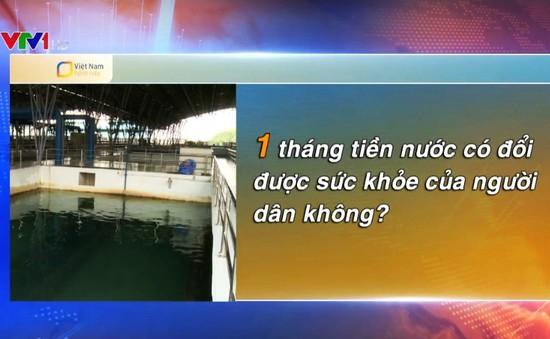 Người dân phản ứng ra sao khi công ty CP Nước sạch Sông Đà xin lỗi về sự cố nước bẩn?