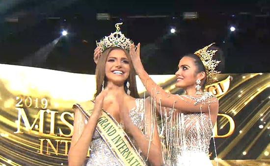 Người đẹp Venezuela đăng quang Hoa hậu Hòa bình thế giới 2019
