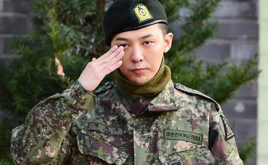 G-Dragon chính thức xuất ngũ