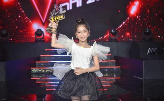 Học trò Lưu Thiên Hương - Ali Hoàng Dương đăng quang quán quân Giọng hát Việt nhí