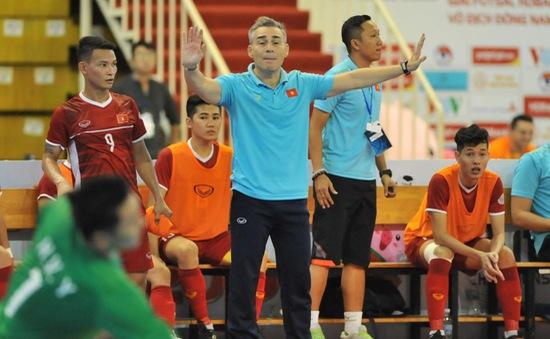 ĐT futsal Việt Nam giành quyền dự VCK châu Á, HLV Rodrigo mơ về Futsal World Cup